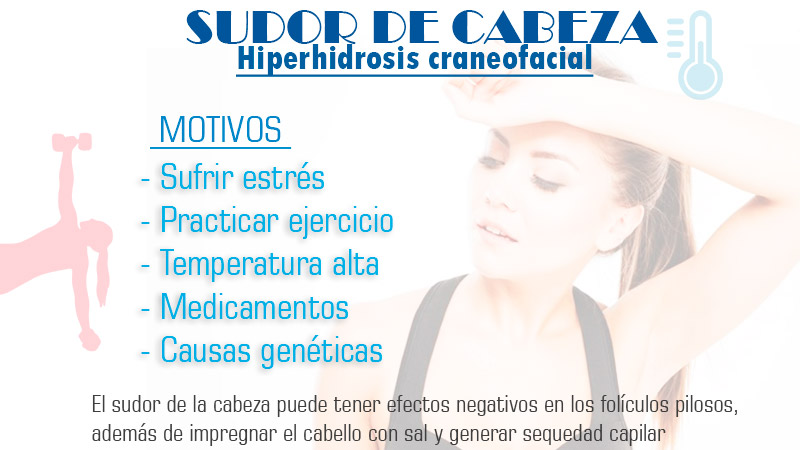 Hiperhidrosis craneofacial