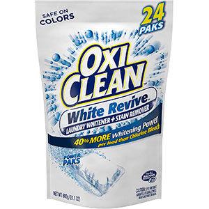 Detergente para eliminar manchas amarillas de sudor